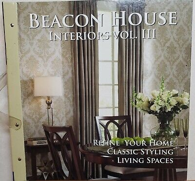Beacon House Interiors Vol III Wallpaper Sample Book Scrapbooking Paper Craft