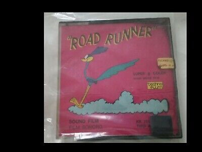 Road Runner 'Tiro A Segno' (Film Sonoro Super 8 Color)