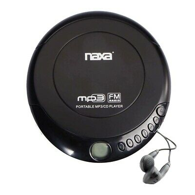 Naxa Npc-320 Portable Cd And Mp3 Disc Player Fm Radio