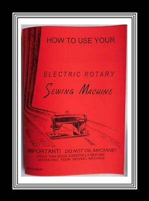 KENMORE 49 / 120-49 Electric Rotary Sewing Machine Instruction Manual Booklet