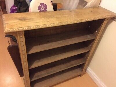 Book Shelves - Book Case - Solid Oak