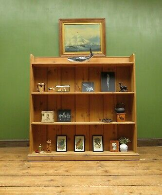 Reclaimed Pine Shelves, Bookcase, Shallow Kitchen Shelves, Country Cottage piece