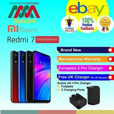 Xiaomi Redmi 7 Brand New Sealed Factory Unlocked Global Version Fast Delivery