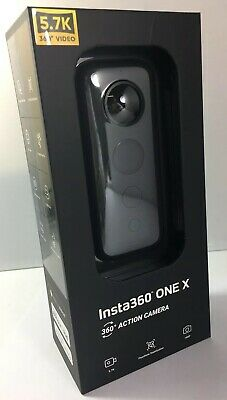 Insta360 ONE X Action Camera - Black Brand New Factory Sealed + FREE DELIVERY
