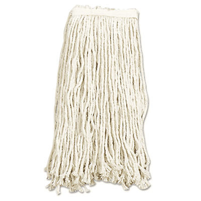 Case of 10! Skilcraft 30641 8 Ply Cut End 16oz Cotton Mop Head Narrow Band