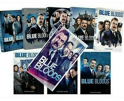 Blue Bloods Seasons 1,2,3,4,5,6,7,8 DVD New Sealed US Made & Shipper Tom Selleck