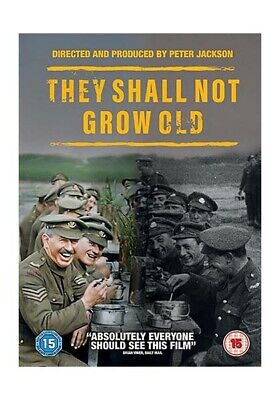 """""""They Shall Not Grow Old"""" Dvd [New/Sealed] Free Shipping Region 1 Usa"""