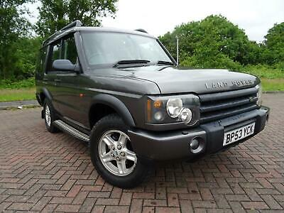 Land Rover Discovery 2.5 Tdi5 Es 7 Seater 2004 53 Reg