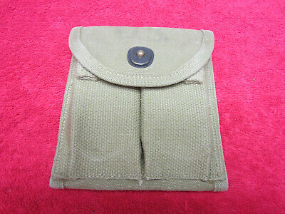 US WWII Original M1-Carbine Pouch dated 1943
