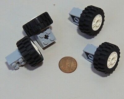 Speed Champions Vehicle Car Base With Tires,rims And Wheel Holder Lego X4 City