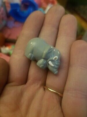 Vintage Bluebird Polly World Pocket 1989 Wild Zoo Compact - ELEPHANT ONLY