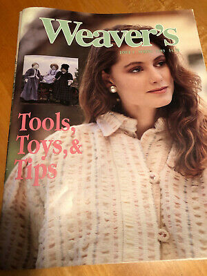 Weaver's magazine 5: tools, toys, and tips: part I.    RARE