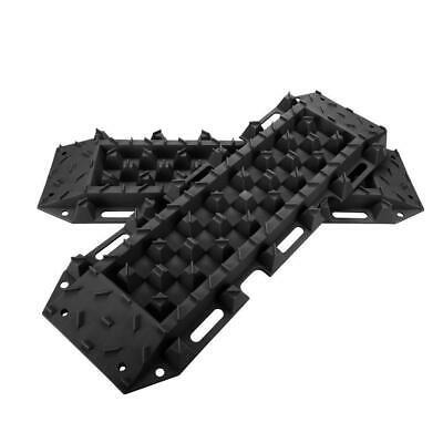 4WD Recovery Tracks 10T Ton Pair Sand Mud Snow 4x4 Off Road Black Red Blue NEW