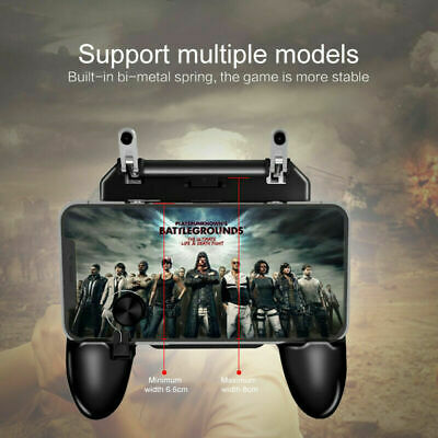 Mobile Game Grip Controller Trigger Joystick for PUBG iPhone X 7 8 Plus Android