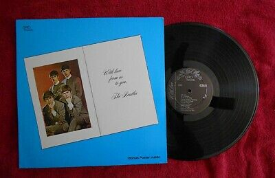 The Beatles  With Love From Us To You  Oop Lp With Poster