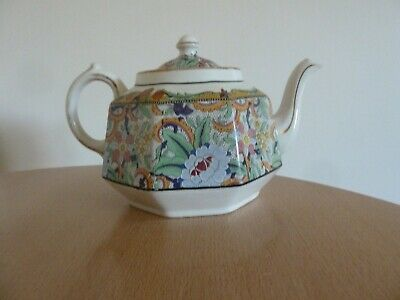 Teapot by Gibsons England Embossed /numbered underside & additional no. of 8558