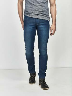 Mish Mash Navy CEO Straight Fit Trouser £25.99 rrp £65