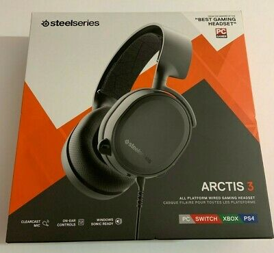 SteelSeries Arctis 3 (2019 Edition) All Platform Wired Gaming Headset