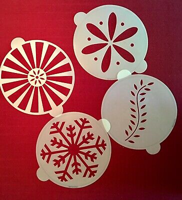 Martha Stewart By Mail 5 Snowflake Copper Cookie Cutters Christmas