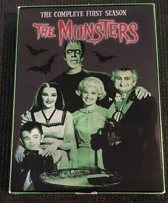 The Munsters - The Complete First Season (DVD, 2004, 3-Disc Set)