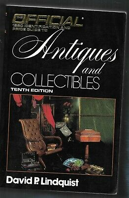 1990 Official Price Guide Antiques, Collectibles PB-David P. Lindquist-810 pages
