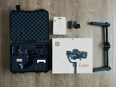 Zhiyun Crane V2 3-Axis Handheld Stabilizer Steady DSLR Gimbal +Dual Grip +Remote
