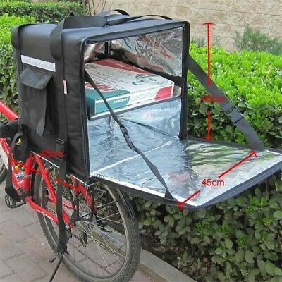 PK-92Z: Insulated Pizza Food Delivery Backpack Bag for Scooter Bike Divider