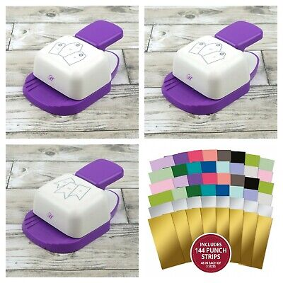Hunkydory - Premier Craft Tools - TAGS & BANNER Punches - Assorted Punch Strips