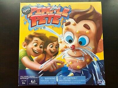 PIMPLE PETE GAME Presented By Dr  Pimple Popper, Explosive