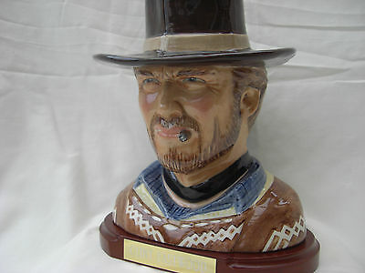Clint Eastwood.toby jug.Western.The good the bad and the ugly.Film.movie.cowboys