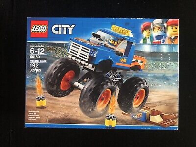 Lego City 60180 Monster Truck 192 Pieces - New To N Box Item: 6209746