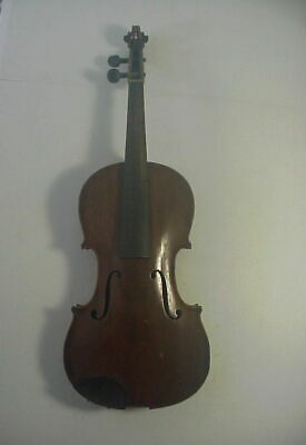 1920s GERMAN VIOLIN FINELY MADE with 1 PIECE MAPLE BACK