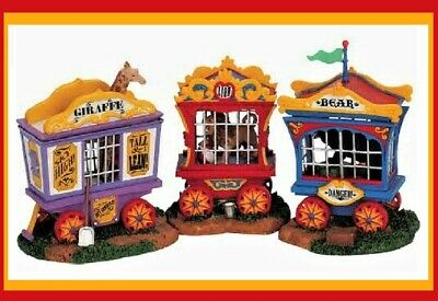 Lemax Carnival Circus Ticket Kiosk Booth /& figurines 63563 NEW 5 Pieces in All
