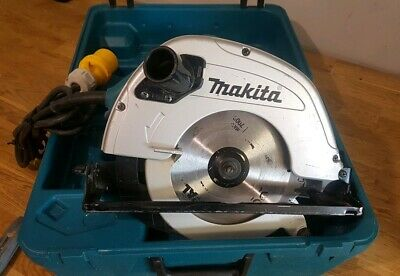 Makita 5704r 110v 190mm Circular Saw In Excellent Condition