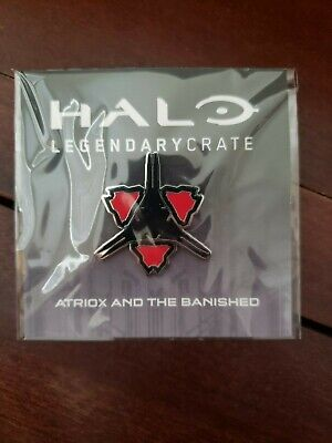 Loot Crate HALO Atriox and the Banished Pin EXCLUSIVE Halo Legendary FAST SHIP