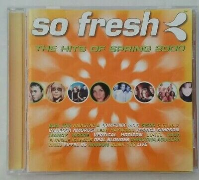 So Fresh: The Hits of Spring 2000 by Various Artists (CD, 2000, BMG (Aust.))