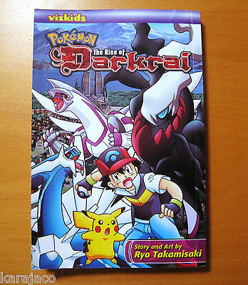 Pokemon The Rise Of Darkrai Movie Tie-In Manga Viz Media Kids English Book
