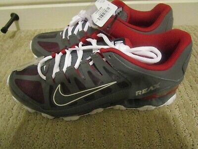 8ca897e0b1 Nike Reax TR sz 9.5 MENS Shoes Sneakers Running Cross Training Trainers red  gray