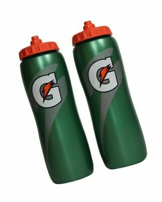 Gatorade 32 oz. Squeeze Water Bottle - All Sport Water Bottle, Team 2 Pack