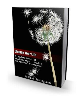Change Your Life pdf ebook Free Shipping With master Resell Rights
