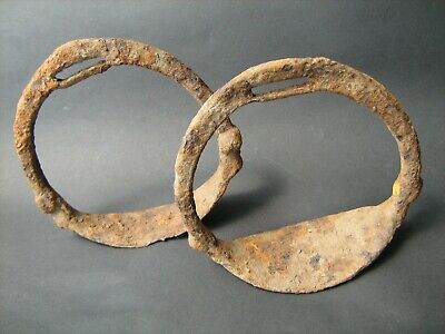 Ancient Vikings iron stirrup 10-13 centuries