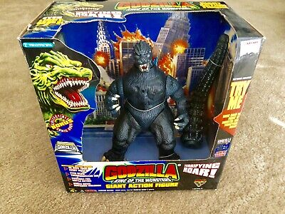 "1995 Trendmasters Super-charged Godzilla 9"" action figure! MIB!"
