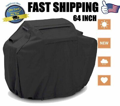 64INCH Large BBQ Gas Grill Cover Heavy Duty Barbecue Waterproof Outdoor Patio US