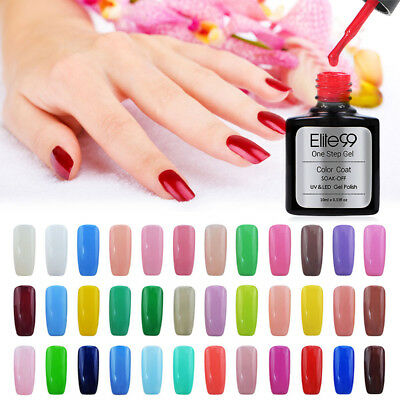 Elite99 10ml 3 en 1 de Esmaltes de Uñas Gel UV LED Semipermanente Serie de