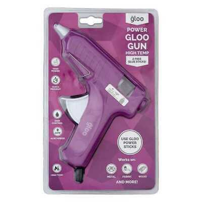 Gloo High Temperature Large Glue Gun Raspberry