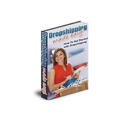 Dropshipping Made Easy pdf ebook Free Shipping With Master Resell Rights