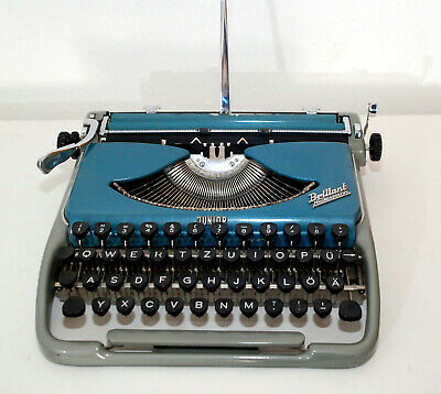 Neckermann Brillant Junior / Groma Kolibri, typewriter, Pika QWERTZ , revidiert!