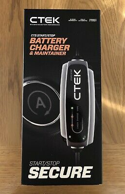 CTEK CT5 Start / Stop Battery Charger & Maintainer. Brand New Sealed.
