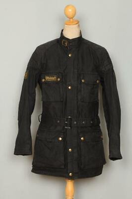 fac9f83b722 Vtg 60s BELSTAFF Trialmaster Professional Motorcycle WAXED Jacket Large