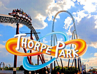 2 X eTickets for Thorpe Park Sunday 4th August SCHOOL HOLIDAYS